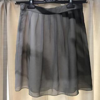 アニエスベー(agnes b.)のアニエスベー 転写スカート(ひざ丈スカート)