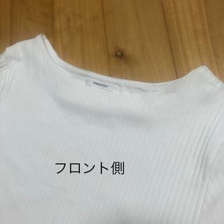 オペークドットクリップ(OPAQUE.CLIP)のOPAQUE.CLIP  リブTシャツ  【LL】(Tシャツ(半袖/袖なし))