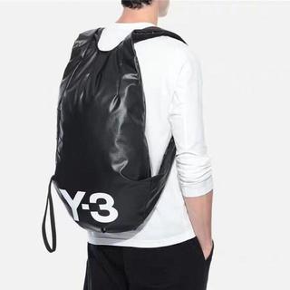 ワイスリー(Y-3)のY-3 ワイスリー ヨージ ウォッシャブル リュック バッグ 黒 新品未使用(バッグパック/リュック)