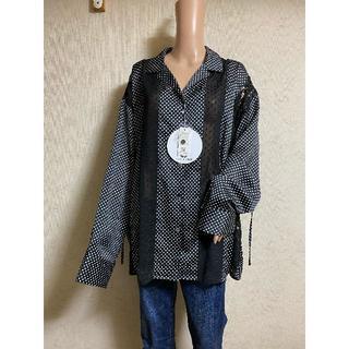 ローズバッド(ROSE BUD)のROSE BUDで購入!水玉&レースシャツ(シャツ/ブラウス(長袖/七分))
