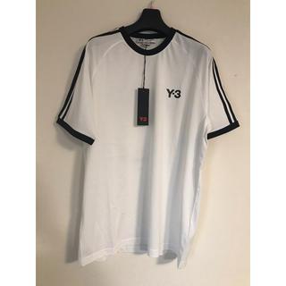 ワイスリー(Y-3)の【タグ付き新品】y-3 yohji yamamoto Tシャツ (L)(Tシャツ/カットソー(半袖/袖なし))