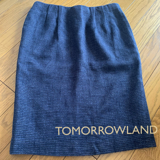 TOMORROWLAND - トゥモローランドコレクション ツイードスカート