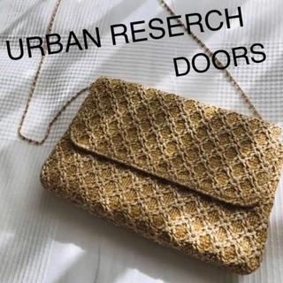 ドアーズ(DOORS / URBAN RESEARCH)の最終値下げ アーバンリサーチドアーズ ショルダー クラッチ バッグ(ショルダーバッグ)