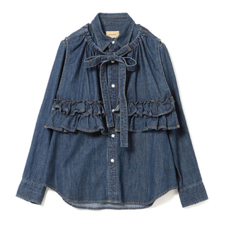 BEAMS BOY - maturely Denim & Jacquard Western Shirts