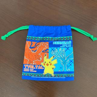 ポケモン(ポケモン)のポケモン巾着(コップ入れ)(ランチボックス巾着)