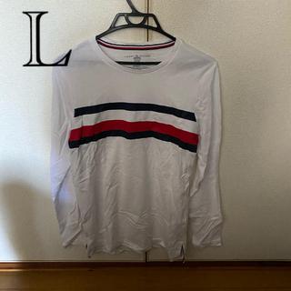 トミーヒルフィガー(TOMMY HILFIGER)のTOMMY HILFIGERロンT  長袖Tシャツ(Tシャツ/カットソー(七分/長袖))