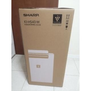 SHARP - SHARP プラズマクラスター25000 KI-HS40-W