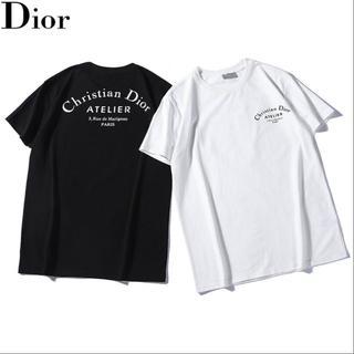 Christian Dior - クリスチャンディオールTシャツユニセックス半袖Christian Dior 24