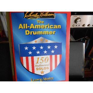 All-American Drummer オールアメリカンドラマー 打楽器教則本(その他)