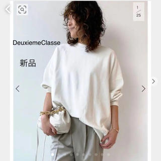DEUXIEME CLASSE - 新品DeuxiemeClasse 【アール ジュビリー】ベーシックスウェット