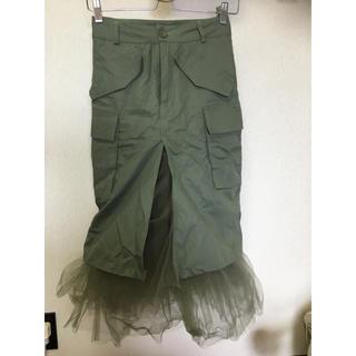 ZARA - ♡本日限定お値下♡セレクト購入 デザインチュール スカート♡S