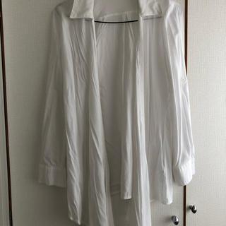 リエンダ(rienda)のrienda ドレープ変形シャツ Sサイズ(シャツ/ブラウス(長袖/七分))