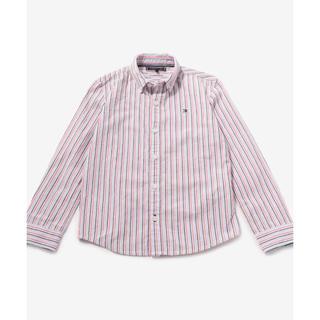 トミーヒルフィガー(TOMMY HILFIGER)のトミーヒルフィガー  ストライプシャツ 長袖 コットンシャツ(Tシャツ/カットソー)