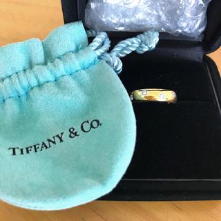ティファニー(Tiffany & Co.)のティファニー ダイヤモンドドッツバンドリング(リング(指輪))