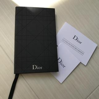 ディオール(Dior)のディオール Dior 手帳 ノート ブラック 非売品 ノベルティ ロゴ 新品(手帳)