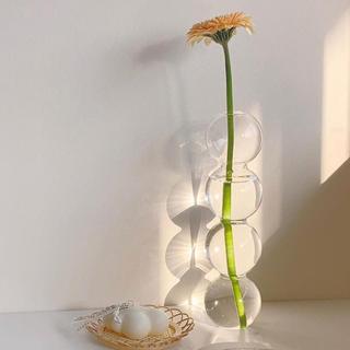 アクタス(ACTUS)のバブルフラワーベース クリア(花瓶)