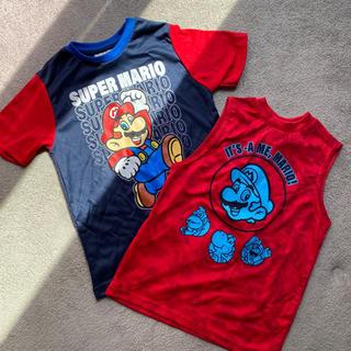 ニンテンドウ(任天堂)のマリオ Tシャツ パジャマ 7T(Tシャツ/カットソー)
