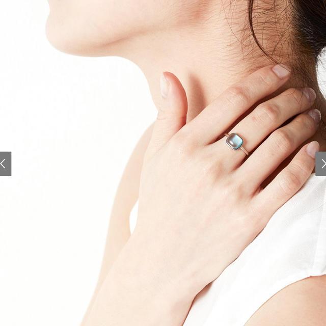MOTHERHOUSE(マザーハウス)のマザーハウス ジュエリー リング soraumi ブルートパーズ レディースのアクセサリー(リング(指輪))の商品写真