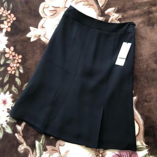 スーツカンパニー(THE SUIT COMPANY)のザ スーツカンパニー 黒 新品 膝丈スカート 制服 スーツ(スーツ)