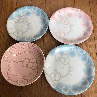 ハローキティ(ハローキティ)のハローキティ お皿4枚(食器)