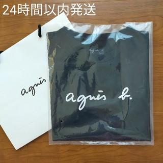 アニエスベー(agnes b.)の【新品】アニエスベー 半袖 Tシャツ ブラック(Tシャツ(半袖/袖なし))