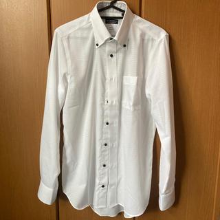 スーツカンパニー(THE SUIT COMPANY)の白ワイシャツ スーツカンパニーS ボタンダウン THE SUIT CAMPANY(シャツ)