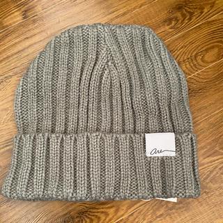 アズールバイマウジー(AZUL by moussy)のAZULニット帽(ニット帽/ビーニー)