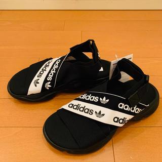adidas - アディダスオリジナルス MAGMURサンダル 新品 25.5センチ ブラック