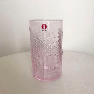イッタラ(iittala)のiittala flora フローラ タンブラー グラス ペールピンク 23cl(グラス/カップ)