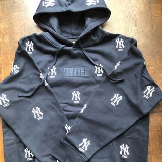 キース(KEITH)のkith Yankees hoodie L(パーカー)