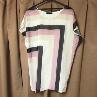 リエンダ(rienda)のリエンダ ビッグ Tシャツ チュニック Sサイズ ゆったり(チュニック)