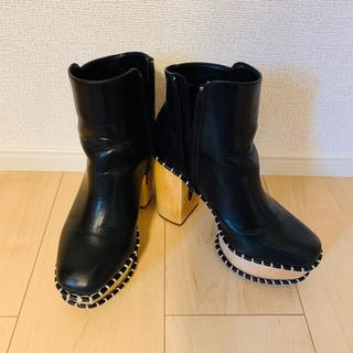 マウジー(moussy)の厚底ブーツ(ブーツ)