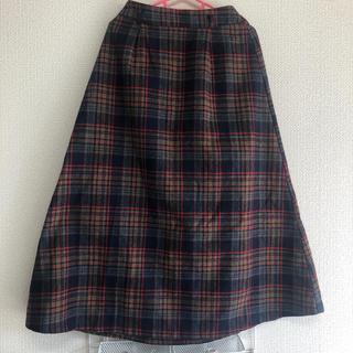 マジェスティックレゴン(MAJESTIC LEGON)のチェックロングスカート(ロングスカート)