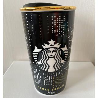 スターバックスコーヒー(Starbucks Coffee)の【新品】スターバックス タイムズスクエア限定タンブラー(タンブラー)