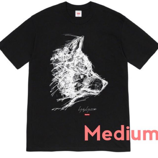 Supreme(シュプリーム)のSupreme Yohji Yamamoto Scribble Wolf Tee メンズのトップス(Tシャツ/カットソー(半袖/袖なし))の商品写真