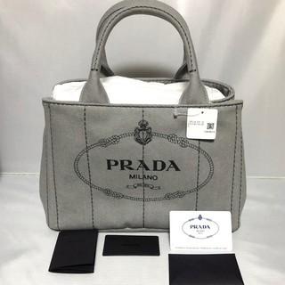 PRADA - PRADA プラダ カナパ 2wayトートバッグ ショルダーストラップ付き