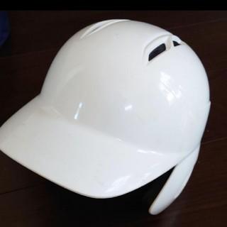 ゼット(ZETT)の【美品】硬式野球用ZETTヘルメットMサイズ(防具)