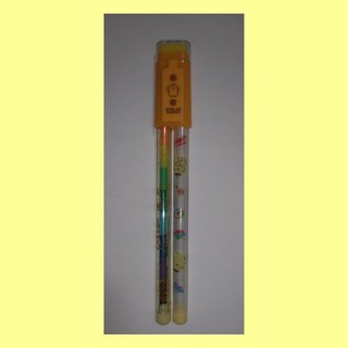 サンリオ(サンリオ)の㉔ ロケット鉛筆&色鉛筆&消しゴム(ポムポムプリン)(鉛筆)