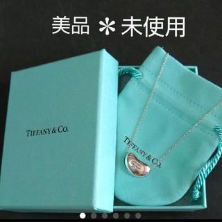 Tiffany & Co. - 美品*未使用*ティファニー ビーンネックレス☆保存袋と保存箱付き