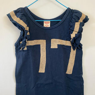 デニムダンガリー(DENIM DUNGAREE)のデニム&ダンガリー ノースリーブカットソー 140(Tシャツ/カットソー)