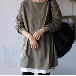 アンティカ(antiqua)のantiquaバスクロンT(Tシャツ(長袖/七分))