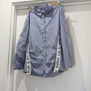 ZARA KIDS - ZARA Girls ストライプシャツ 130 134 140