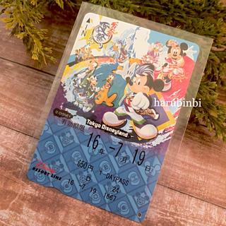 ディズニー(Disney)のディズニー夏祭り2016 フリーきっぷ フリー切符 一日乗車券(その他)