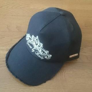 レディー(Rady)の送料込《Rady》7500円👒レディースF👒ティアラ刺繍キャップ👒黒(キャップ)
