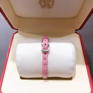 カルティエ(Cartier)の良品 カルティエ K18WG 750 ブレスレット ホワイトゴールド ピンク(ブレスレット/バングル)
