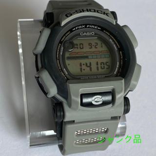 ジーショック(G-SHOCK)の《ジャンク品》カシオ ジーショック DW-003-8 グレー FOXFIRE(腕時計(デジタル))