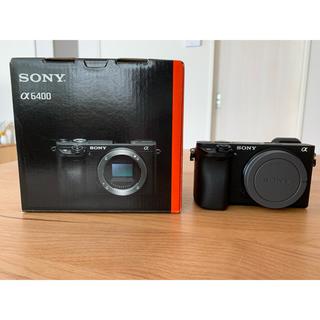 SONY - SONY α6400 ボディ 本体 カメラ