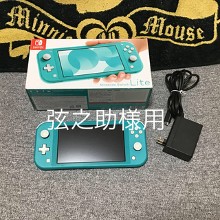Nintendo Switch - Nintendo Switch  Lite ターコイズ 美品