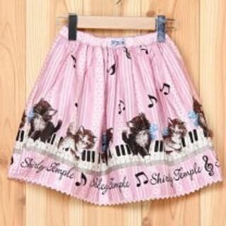 シャーリーテンプル(Shirley Temple)のシャーリーテンプル 140 猫 ピンク(スカート)