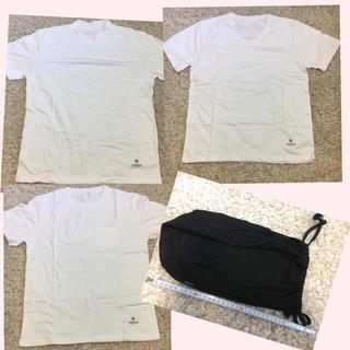 ナノユニバース(nano・universe)の新品nano・universe白Tシャツ 3点セット(Tシャツ(半袖/袖なし))